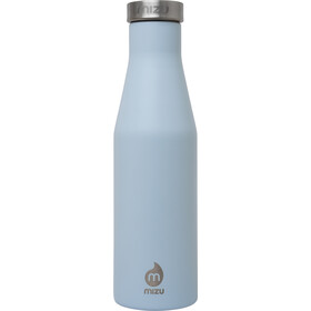 MIZU S4 Insulated Bottle 400ml with Stainless Steel Cap, bleu/argent